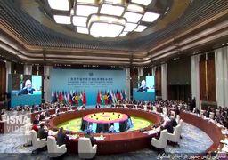 سخنرانی حسن روحانی در نشست شانگهای