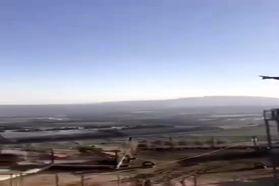 فیلم | رونمایی از تندیس سپهبد سلیمانی در مرز اسرائیل