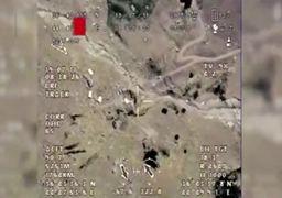 فیلم | حمله موشکی سپاه پاسداران به مقر تروریستها در کردستان عراق