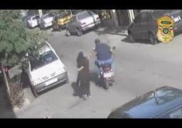 دستگیری باند خشن سرقت و زورگیری+فیلم