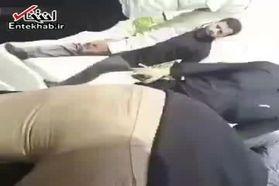 فیلم لحظه دستگیری یکی از مظنونان حمله تروریستی در اهواز
