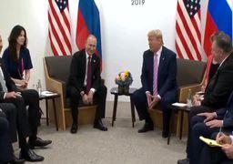 درخواست انتخاباتی ترامپ از پوتین مقابل همگان+فیلم