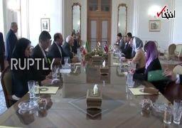 دیدار ظریف با وزیر خارجه کره شمالی