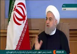 روحانی: میگویند اگر فلان کنوانسیون امضا بشود اسلام از دست میرود