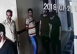 فیلم دستگیری شهرام جزایری در گمرک بازرگان