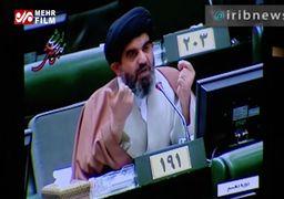 ویدئو/ پاسخ محکم لاریجانی به نوبخت