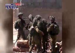 فیلم | کتک خوردن نظامیان اسرائیلی از فرمانده خود