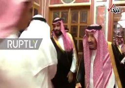دیدار خانواده خاشقجی با پادشاه و ولیعهد عربستان سعودی