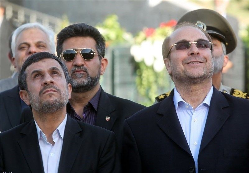 نتیجه تصویری برای قاليباف، پاجای پای احمدی نژاد گذاشته است