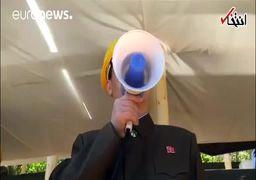 انفجار سایت آزمایش اتمی کره شمالی