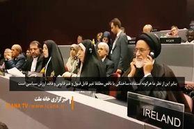 واکنش «فاطمه حسینی» به ادعای هیئت اماراتی درباره خلیج فارس + فیلم