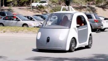 خودروی بدون راننده گوگل