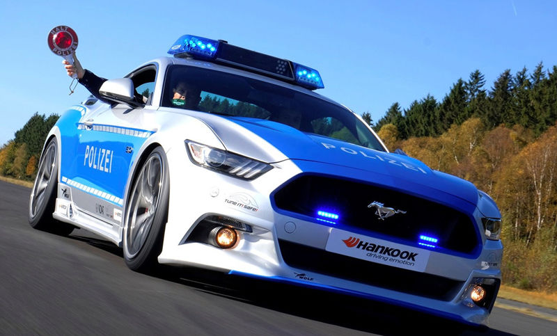 polizei-ford-mustang-gt-tuner