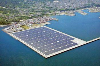 هند نیروگاه خورشیدی شناور روی آب می سازد