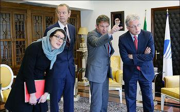 هیات وزارت خارجه آلمان وارد تهران شد