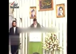 فیلم قدیمی از قرآنخوانی علیرضا منصوریان