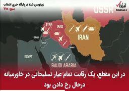 آمریکا-خاورمیانه و فروش تسلیحات نظامی