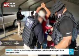 فیلم/ عملیات گسترده علیه مهاجران غیرقانونی