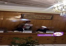 فیلم | خوشوبش روحانی و جهانگیری در جلسه امروز هیئت دولت