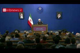 فیلم| روحانی: روزی دشمن را مجبور خواهیم کرد پای میز مذاکره بیاید