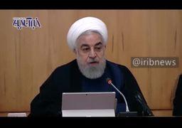 فیلم| روحانی: تداوم مبارزه جهانی با دلار، سلطه آمریکا بر بازارها را تضعیف خواهد کرد