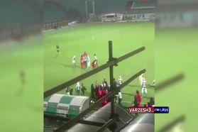 ویدئو/ درگیری شدید دختران فوتبالیست در مسابقات لیگ برتر