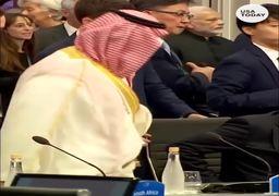 استقبال گرم و نامتعارف پوتین از محمدبنسلمان