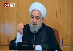 روضهخوانی حسن روحانی در جلسه هیئت دولت