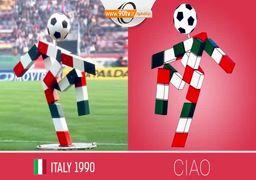 نماد های عروسکی جام جهانی از سال ۱۹۶۶ تا ۲۰۱۸ / فیلم