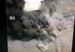 ویدیوی حمله هوایی که منجر به مرگ صالح الصمادشد