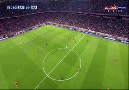 گل اول بایرن مونیخ به رئال مادرید+فیلم