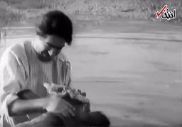 سکانسی ماندگار از نقشآفرینی «عزتالله انتظامی» در فیلم گاو