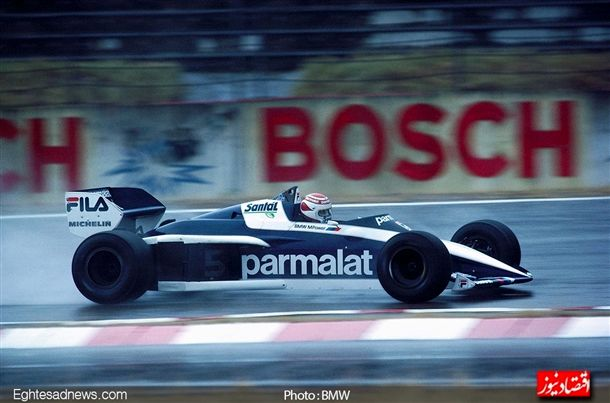 در اکتبر 1983 « نلسون پیکت» راننده برزیلی تیم «بی ام و» توانست با این خودرو ، قهرمان مسابقات فرمول یک شود.
