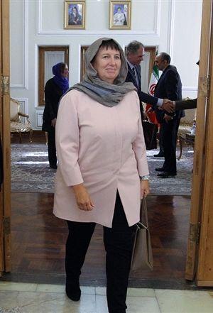 سوزانا ترستال سفیر هلند در تهران