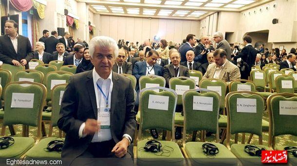 این مرد-محمدرضا نجفی منش-نماینده پرتلاش صنعت خودرو در سفر بود.