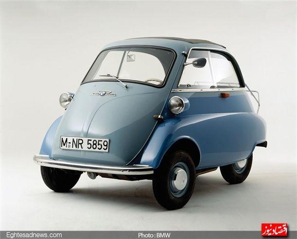 خودرو مشهور « ایستا» که در سال 1955 معرفی شد دارای یک در بود که از جلو باز می شد و بی موتور تک سیلندر چهار سوپاپه خود توانایی در نوردیدن 156 کیلومتر را تنها با یک گالون بنزین را دارا بود.