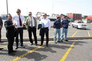 تصویر مربوط به حضور یکی از هیات های خارجی در ایران است.