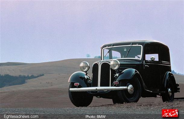 از سال 1933 تا 1934 شاهد اولین خودرو ای بودیم که تحت نام «بی ام و» با برند،طرح بدنه و طراحی جلو پنجره ای که می شناسیم تولید شد.