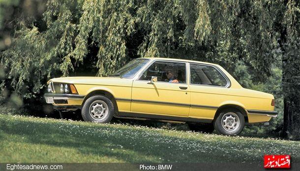 بی ام و خودروی «ای 21» را ( سری 3) بین سال های 13975 تا 1983 روانه بازار کرد ، خودروای که با موتورهای 4سیلندر 6/1 ، 8/1 و 2 لیتری تولید شد که در اواخر سال های تولید خود ، به اختیار مشتری با موتور شش سیلندر تولید شد.