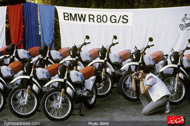 موتور سیکلت آر80 جی اس ، موتورسیکلت دومنظوره آفرود – شهری ای که در دهه 80 شاهد فروش بسیار زیادی بود.
