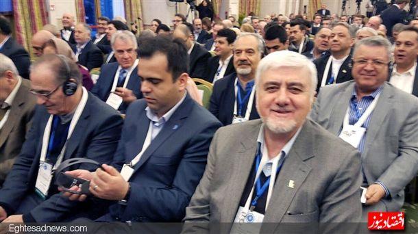 دکتر مجید قاسمی مدیر عامل بانک پاسارگاد.حتما دست پر به تهران بر می گردد.