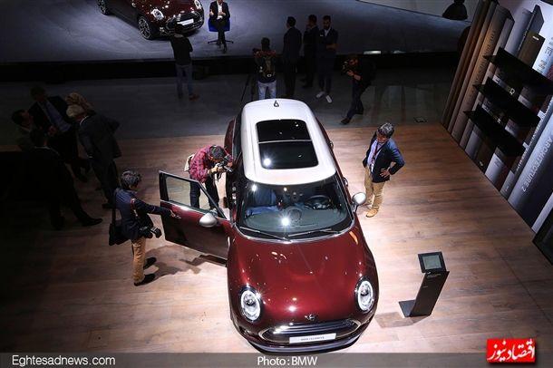خودرو «مینی» که امروزه مالک برند آن کمپانی «بی ام و» است.