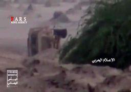 مقابله شجاعانه سرباز یمنی با ماشینهای جنگی سعودی