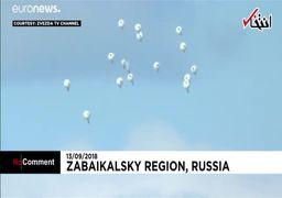 رزمایش بزرگ ارتش روسیه با حضور پوتین