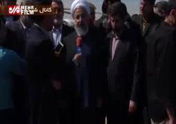 روحانی: این باران نعمت است اما باید آن را مدیریت کنیم +فیلم
