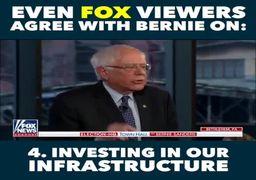 ویدئو/ غوغای «برنی سندرز» در شبکه محبوب ترامپ