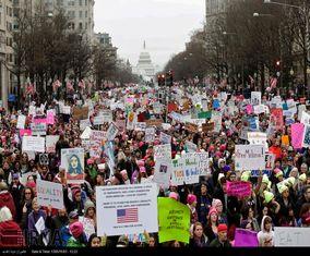 تظاهرات علیه دونالد ترامپ