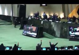فیلم | تصویب طرح 3 فوریتی در مجلس برای عملیاتیسازی انتقام سخت با فریادهای مرگ بر آمریکا