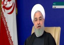 روحانی: این از نمونه تفکرات شاهانه بود که با بارور کردن مشکل آب حل میشود
